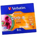 Verbatim DVD-R 4.7Gb, 16x Slim (10) (10/100/6000)